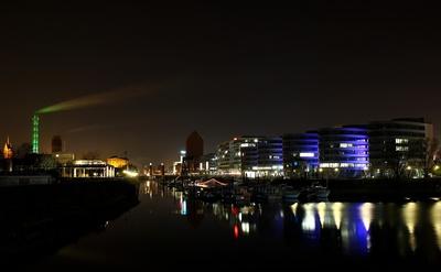 Innenhafen by Night