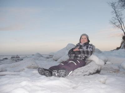 Toben  und Spielen im Schnee