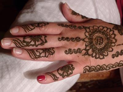 Henna-Hochzeitsbemalung II