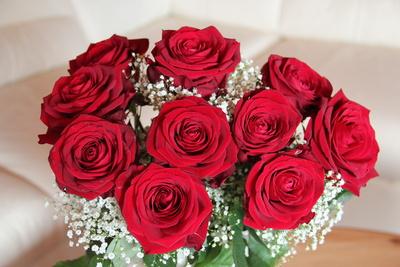 wunderschöner Rosenstrauß
