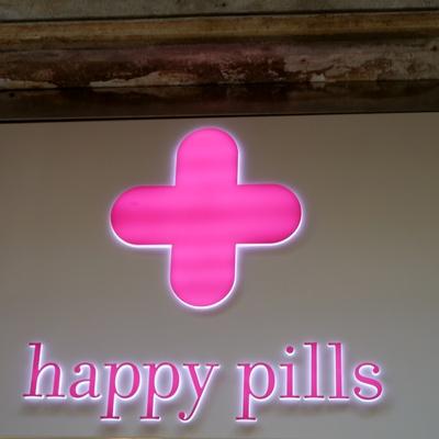 Glückliche Pillen