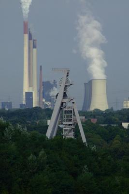 Großindustrie im Ruhrgebiet