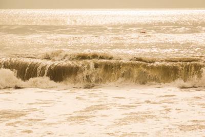 stürmische See (beige,quer)