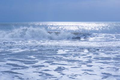 stürmische See (blau, quer) 2