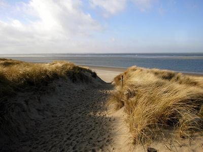 Dünenstrand an der Nordsee