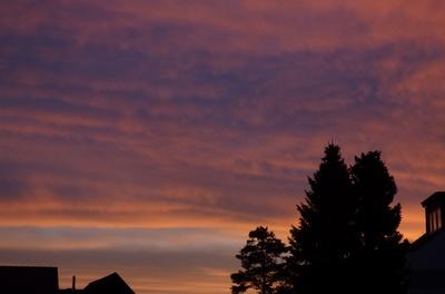 Sonnenaufgang in Dorsten