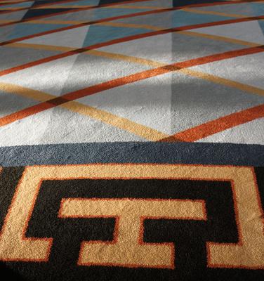 Teppichboden-Design