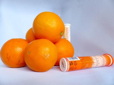Orangen, Vitamine im Winter