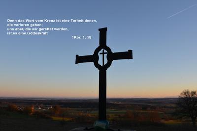 Das Wort vom Kreuz...
