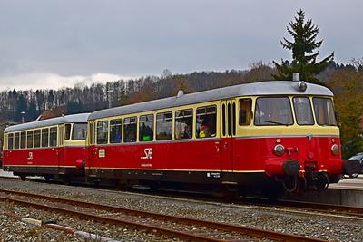 Schwäbische Eisenbahn - MAN Triebwagen
