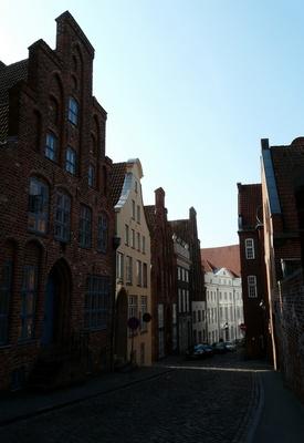 In den Gassen von Lübeck ...