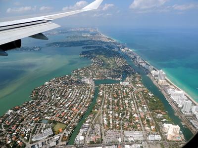 Anflug auf Miami 2