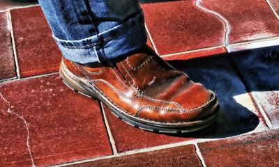 Der Schuh - Leder