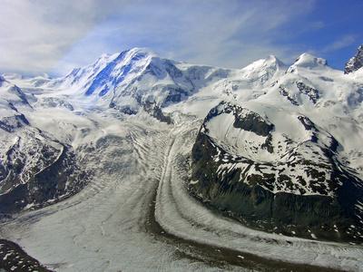 Gletscherwelt am Görnergrat