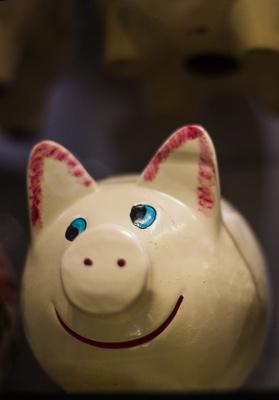 Da lacht das Schwein