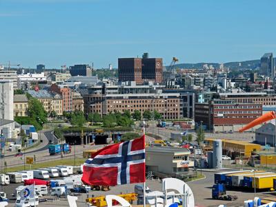 Rathaus Oslo Norwegen