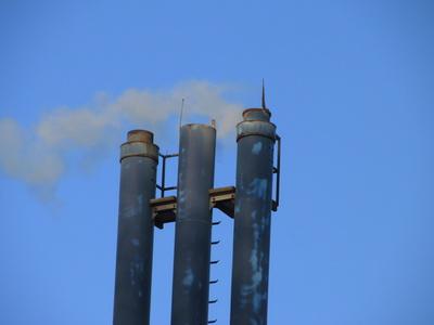Blaue Schornsteine #2