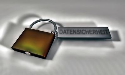 Datensicherheit Schloss