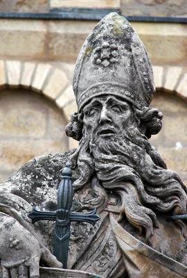 Heiliger Bonifatius vor dem Mainzer Dom #2