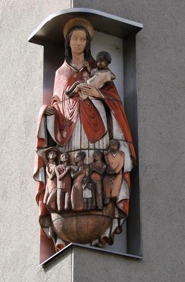 Maria mit Jesukind #4