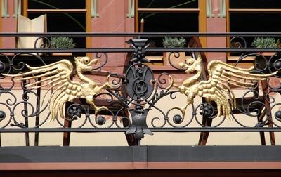 Der Drachenbalkon zu Mainz