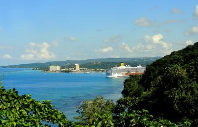 Die Bucht von Ocho Rios