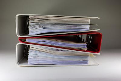 Bürokratie 1 (Ordner) quer