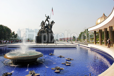 Nationaldenkmal Kuala Lumpur 09.03.2014