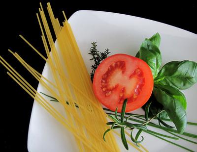 Heute gibt's Tomatenspaghetti