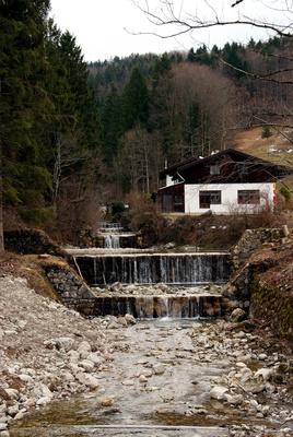 Wasserlauf in Oberwössen