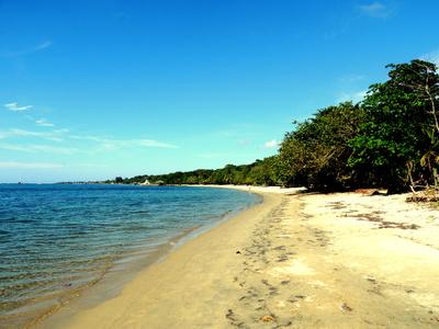 Karibischer Sandstrand