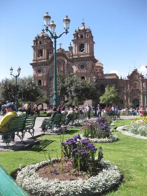 Platz in Cusco/Peru