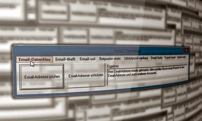 Internet Datendiebstahl Datenklau Email