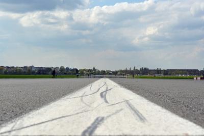 Startbahn in Tempelhof