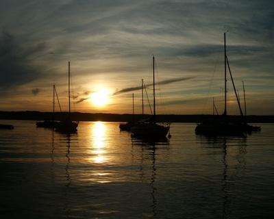 Schiffe im Starnberger See
