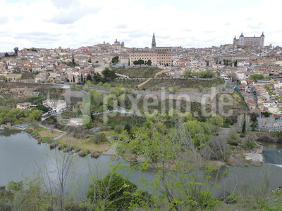 Ausblick auf Toledo 1