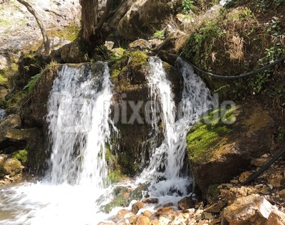 Wasserfall in der Rugova-Schlucht