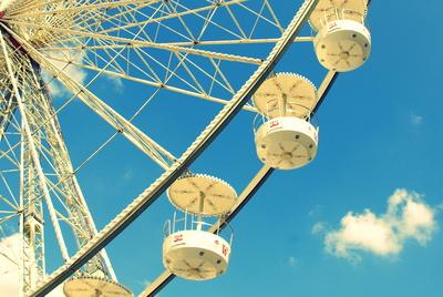 Riesenrad auf dem Hannoveraner Frühlingsfest