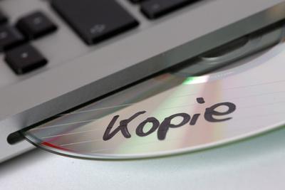 """CD-ROM """"Kopie"""""""