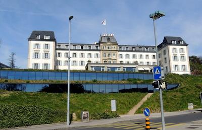 Das Hauptquartier des IKRK in Genf
