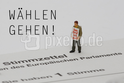Europawahl: Wählen gehen! Das Find ich gut!