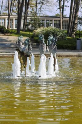 Seepferdchen-Brunnen