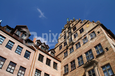 Das Fembo-Haus in Nürnberg