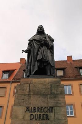 Nürnberg, Albrecht-Dürer-Denkmal