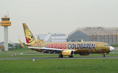 Boeing ´737-800 - Sonderlackierung Haribo