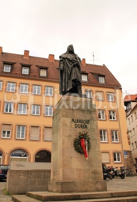 Nürnberg, Albrecht-Dürer-Denkmal 02