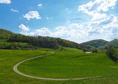 Landwirtschaftlicher Kreisverkehr