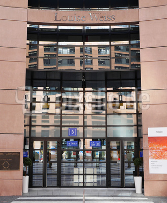Eingang Europaparlament (II)