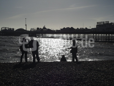 Brighton Pier am Abend