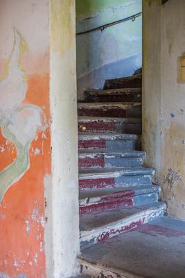 Treppenaufgang Hinterhaus